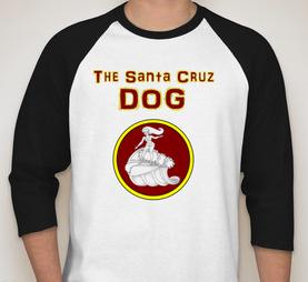 Santa Cruz Hot Dog T-Shirt